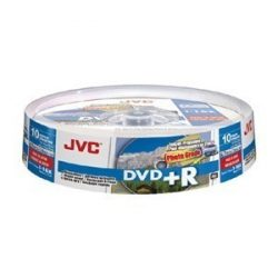 JVC DVD+R printable photo IJW lemez 10db/henger