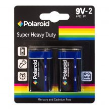 POLAROID heavy duty 9V elem 2db